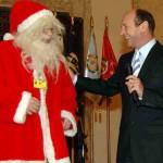Moş Crăciun cu plete halbe